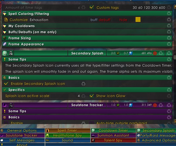 Addon Spotlight Personal Cooldown Tracking