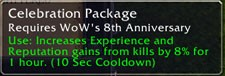 Don't forget to log in for WoW's 8th Anniversary!