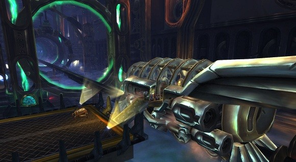 weapon train World fist warcraft of