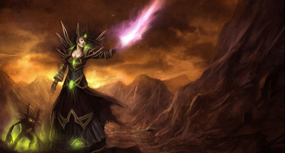 Embracing the darkness Roleplaying the warlock SAT