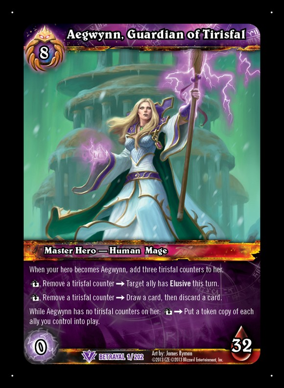 WoW TCG Betrayal of the Guardian exclusive preview Aegwynn