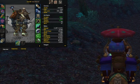 Leveling warriors in Mists of Pandaria, 61 to 90