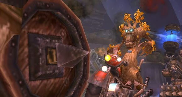 Treeform on Ulduar motorcycle
