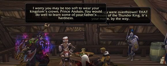 Know Your Lore, Tinfoil Hat Edition The curious neutrality of Anduin Wrynn