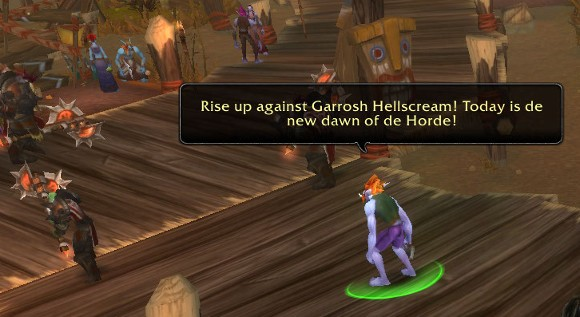 Patch 53 PTR Valley of Spirits closed down by Garrosh's goons