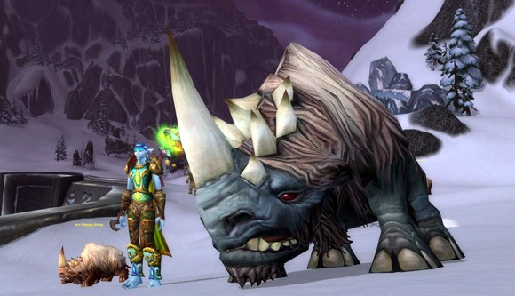 Beast master catalogs the biological taxonomy of Azeroth