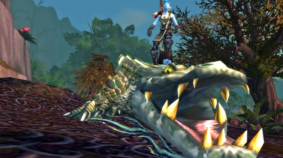 Beast master catalogs the biological diversity of Azeroth