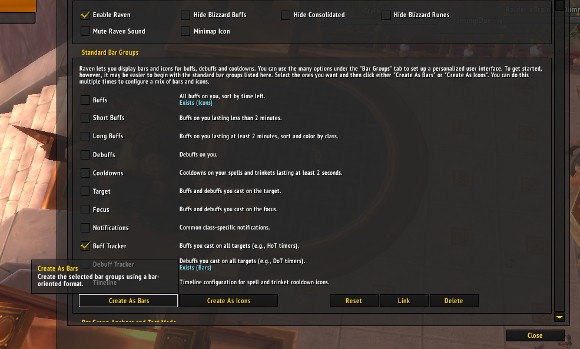 Addon Spotlight Buffs and the removal thereof