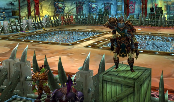 Persistence pays for worldranked WoW brawler