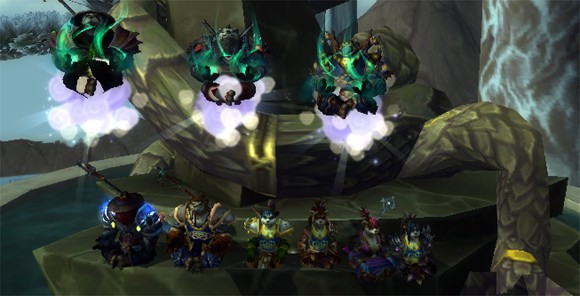 Allpandaren guild rolls into action