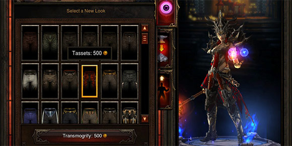 Diablo 3 transmogrification