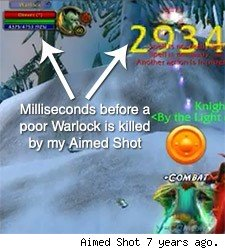 vanilla aimed shot crit