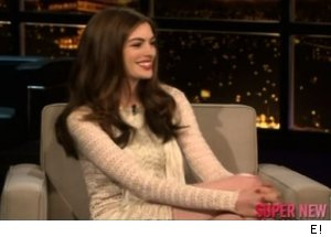 Anne Hathaway talks Catwoman costume, 'Chelsea Lately'