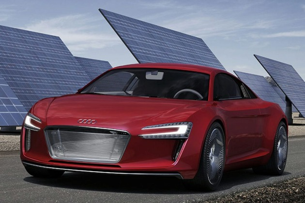 Frankfurt Preview: Audi e-Tron electric supercar gets early web unveil