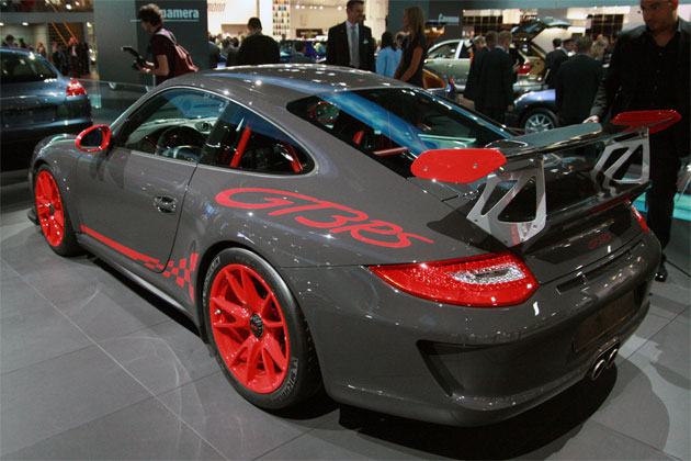 Frankfurt 2009: Porsche 911 GT3 RS goes 180 mph before coming to the show [w/VIDEO]