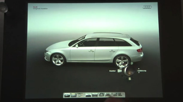 VIDEO: The future of car configurators, brought to you on Microsoft Surface