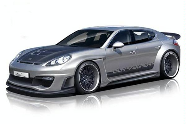 Lumma Design takes on the Porsche Panamera with the CLR 700GT