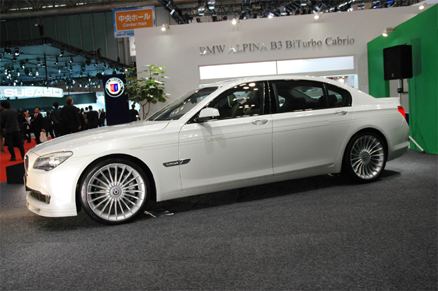 Tokyo 2009: Alpina B7 Bi-Turbo LWB is longer, and therefore better