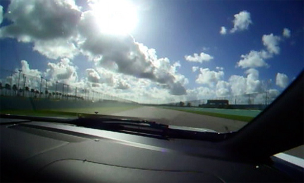 VIDEO: Lexus LFA hotlap at Homestead-Miami Speedway
