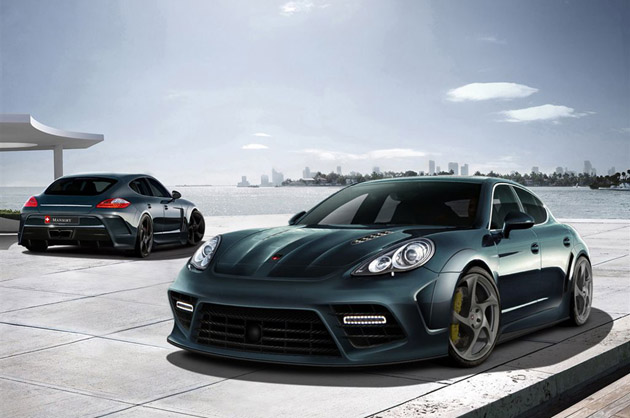 Mansory previews aggressive aftermarket program for Porsche Panamera