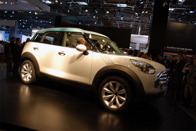 REPORT: Mini 'Countryman' crossover skipping Detroit for Geneva? MINI