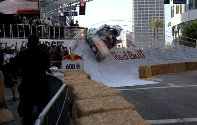 VIDEO: RSD's DeLorean soap box racer consumes 1.21 gigawatts of Red Bull