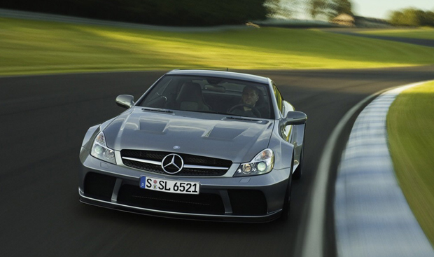 REPORT: South African man sets speed record for blind - in 200 mph SL Black Series!