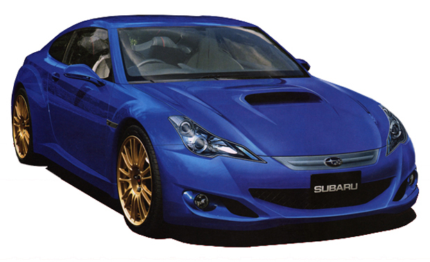 Rendered Speculation: JDM rumormill reports Subaru's FT-86 will get turbo power, AWD