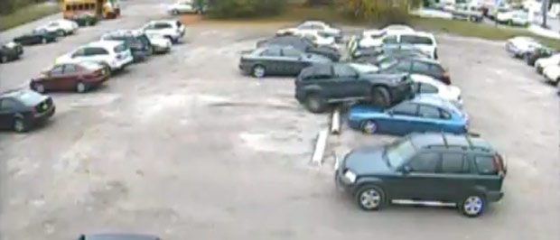 VIDEO: How not to park your BMW X5