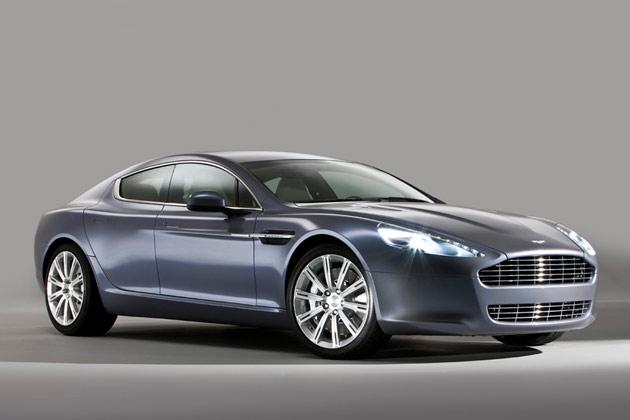 Pics Aplenty: Aston Martin Rapide is ready for its close-up