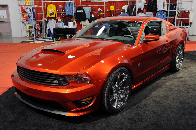 SEMA 2009: Saleen officially unveils 2010 S281 Mustang