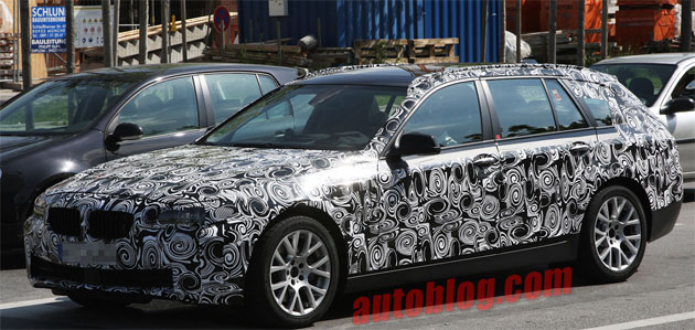 Spy Shots: BMW 5 Series Touring caught testing... but will it come to America?