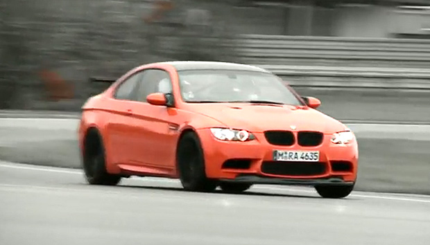 VIDEO: BMW M3 GTS takes to the track