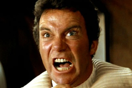William Shatner in 'Star Trek II: The Wrath of Khan'