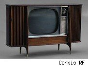 Picture of an old TV
