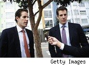 Picture of the Winklevoss Twins