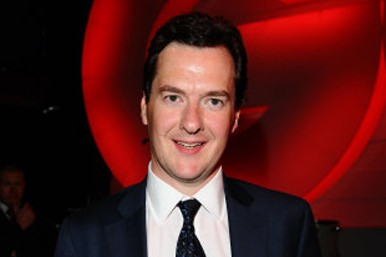 George Osborne collect GQ politician of the year awred