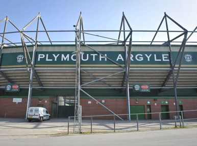 Plymouth Argyle's Home Park ground