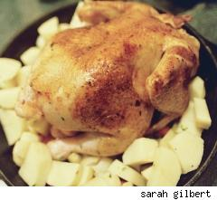 roasted free range chicken