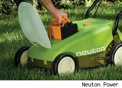 battery lawn mower
