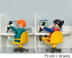 call center toy