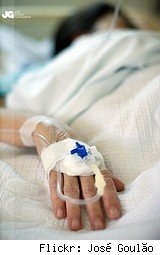 IV in hospital