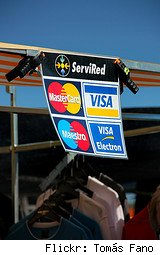 credit card sign spain