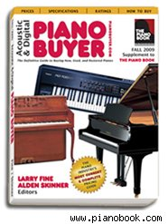 Piano Buyer book