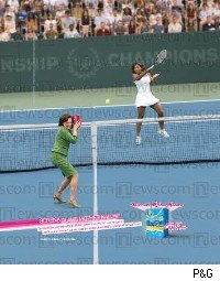 Serena Williams Tampax ad