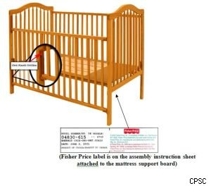 More than 2 million Stork Craft drop-side cribs recalled