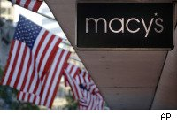 Macy's store sign