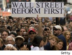 financial reform on Wall Street