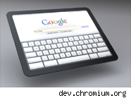 Google chrome tablet