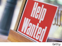 help wanted sign emploment